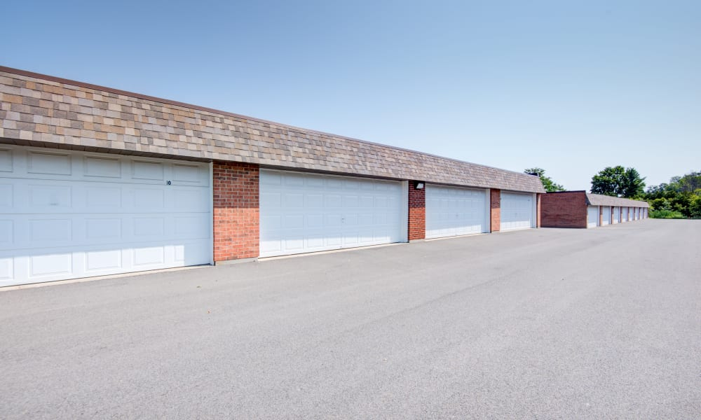 Garages available at Kimbrook Manor Apartments in Baldwinsville, New York