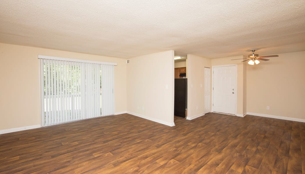 Beautiful hardwood floors at Avondale Reserve in Avondale Estates, GA