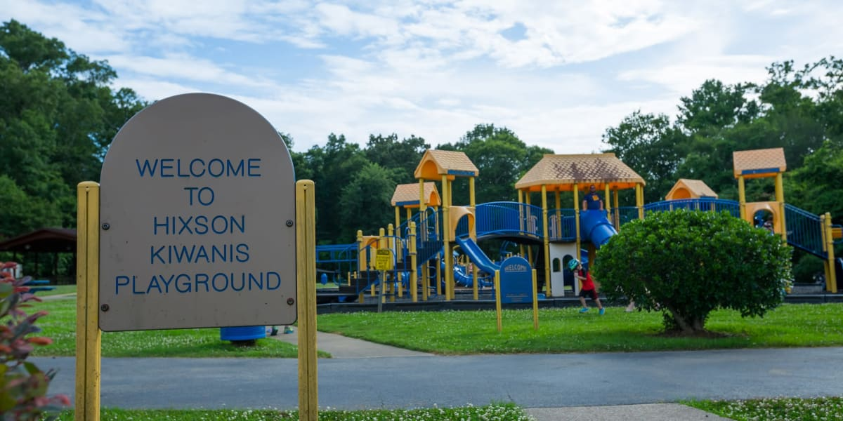 Playground at Oakwood Estates in Hixson, Tennessee