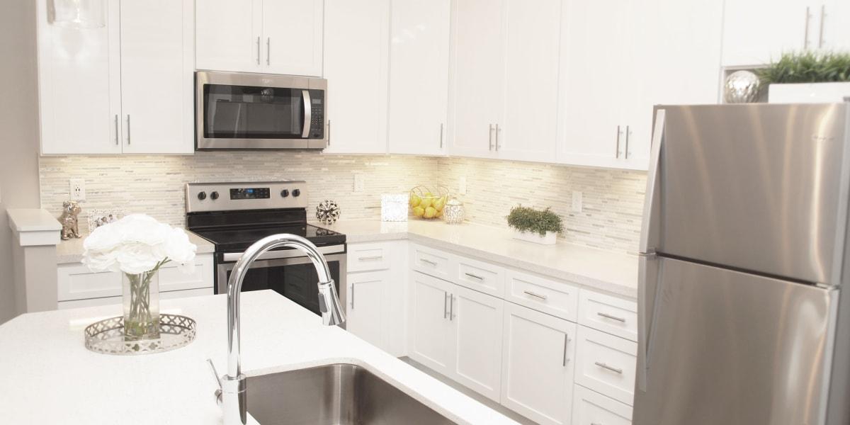 Kitchen featuring stainless steel appliances at Greyson on 27 in Nicholasville, Kentucky