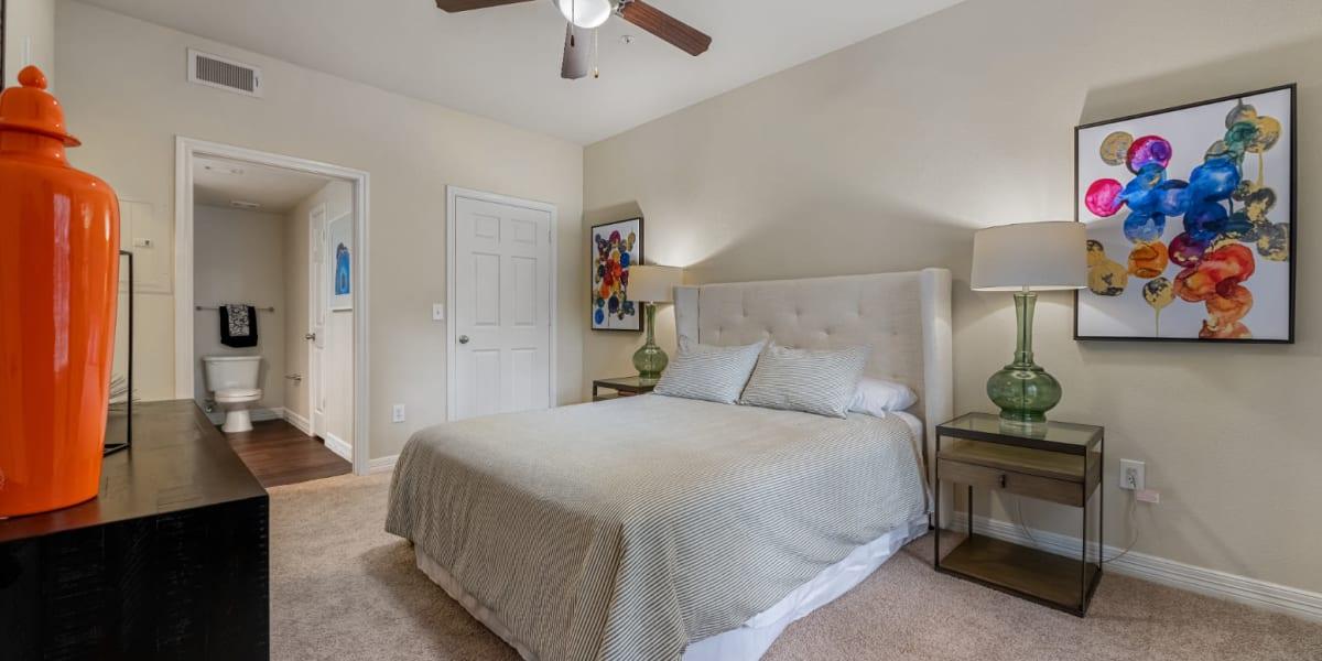 Bedroom at Marquis at Kingwood in Kingwood, Texas
