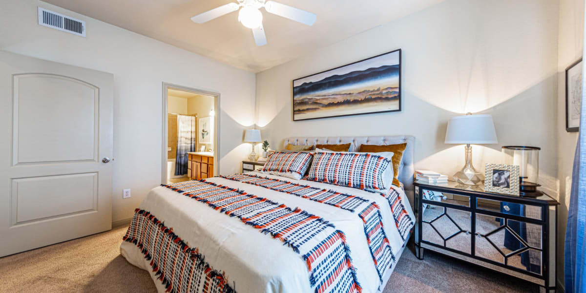 Bedroom at Marquis Grand Lakes in Richmond, Texas