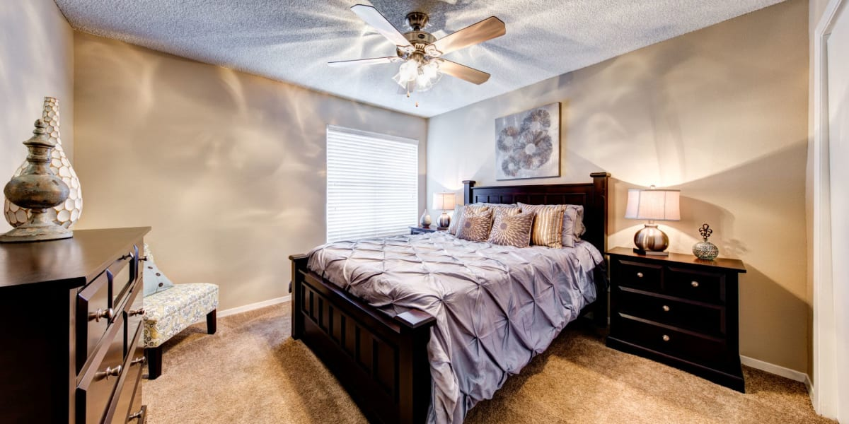 Bedroom at The Park at Flower Mound in Flower Mound, Texas