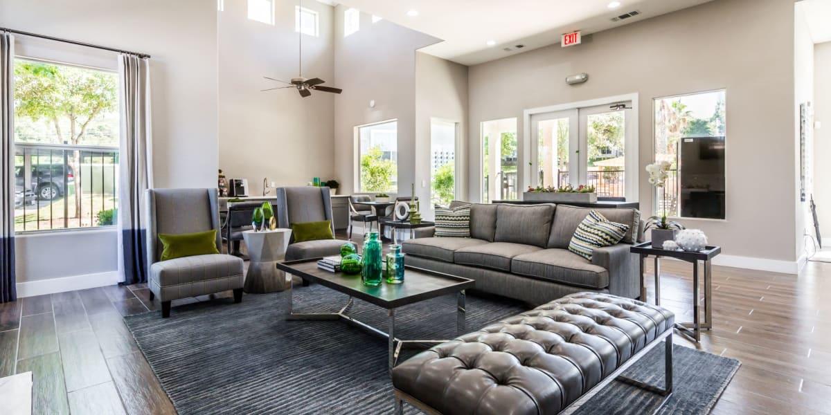 Clubroom at Marquis at Crown Ridge in San Antonio, Texas
