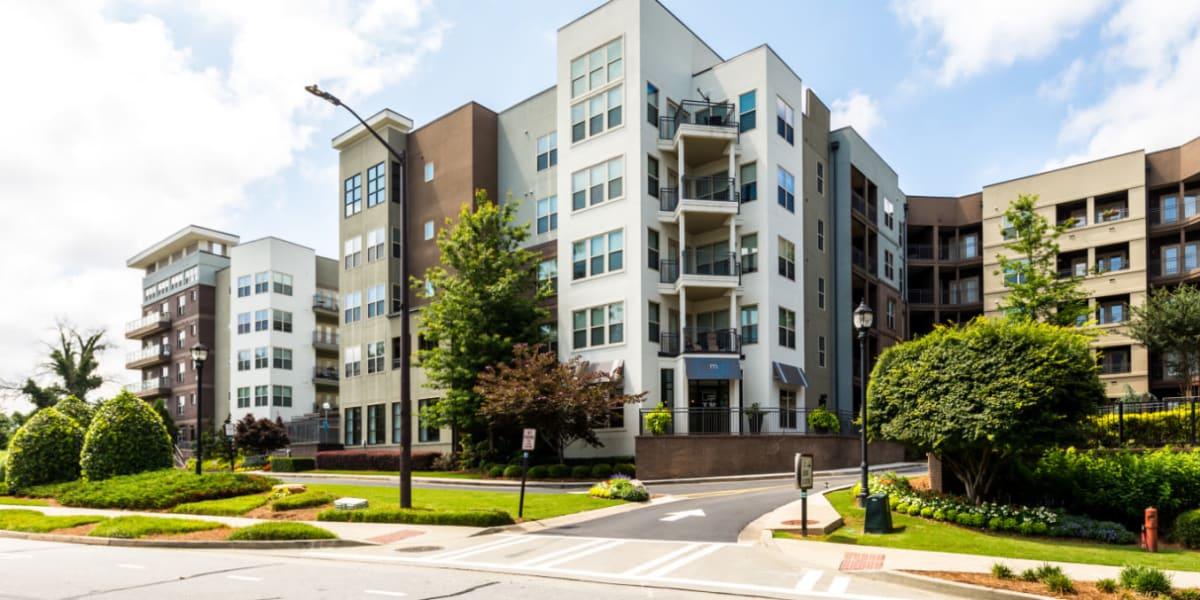 Marq Eight's exterior in Atlanta, Georgia