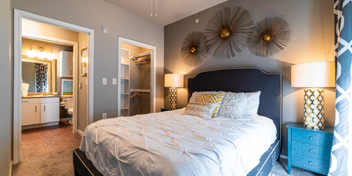 Bedroom at Marquis at Texas Street in Dallas, Texas