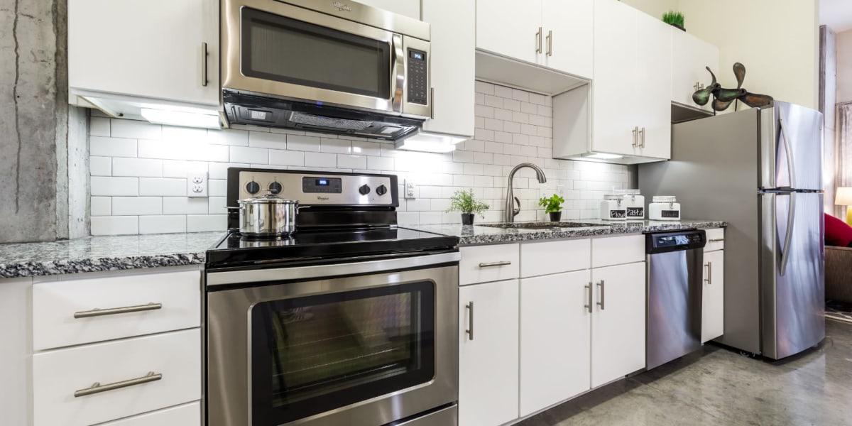 Kitchen at Marq on Burnet in Austin, Texas