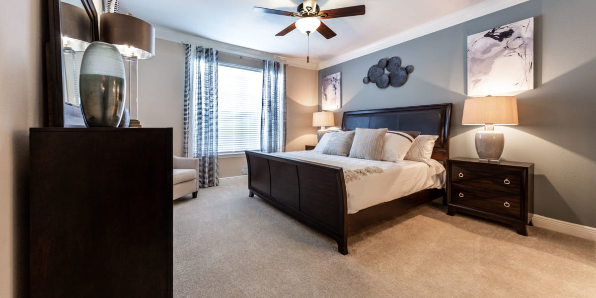 Bedroom at Marquis on Pin Oak in Houston, Texas