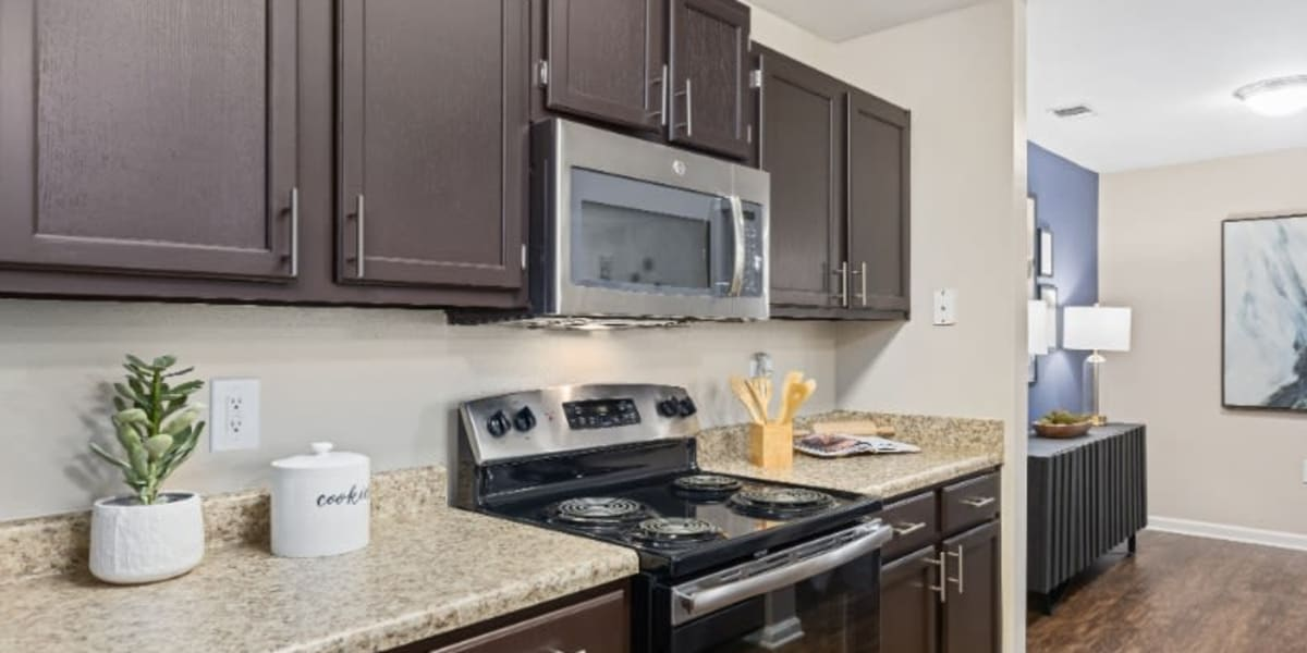 Kitchen at Marquis on Cary Parkway in Morrisville, North Carolina
