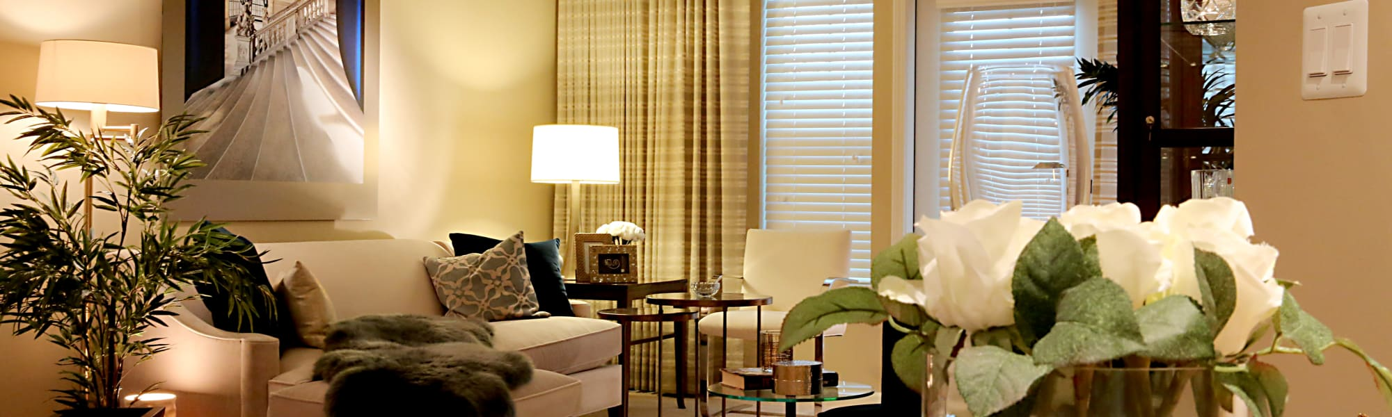 Living room example at All Seasons of Oro Valley in Oro Valley, AZ