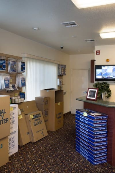 Packing and moving supplies available at Jamacha Point Self Storage in Spring Valley, California