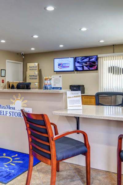 Packing and moving supplies available at Mira Mesa Self Storage in San Diego, California
