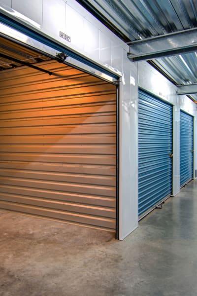 Storage units inside of Smart Self Storage of Solana Beach in Solana Beach, California