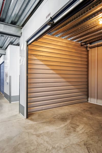 Storage units inside of National/54 Self Storage in National City, California
