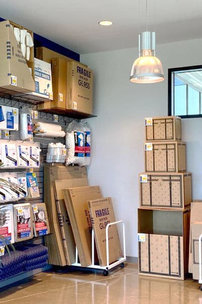 Packing and moving supplies available at Silverhawk Self Storage in Murrieta, California