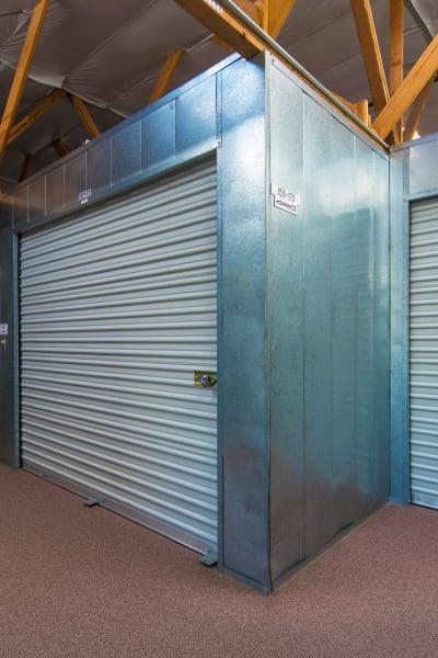 Storage units inside of Poway Road Mini Storage in Poway, California