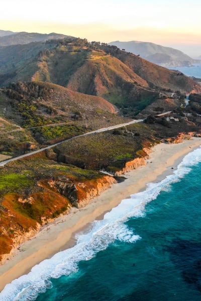 The beautiful beach near San Diego Self Storage locations