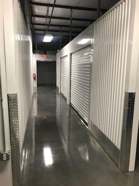 Interior units at Steele Creek Self Storage in Charlotte, NC