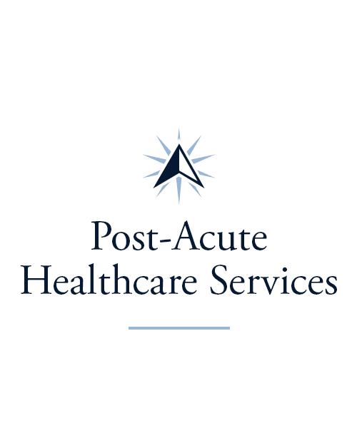 Post-acute healthcare services at Prairie Lakes Health Campus in Noblesville, Indiana