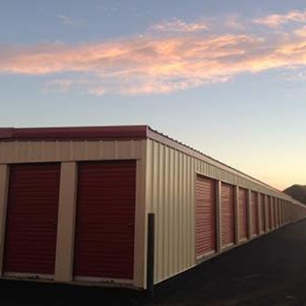 Indoor storage units at StorQuest Self Storage in Williston, North Dakota