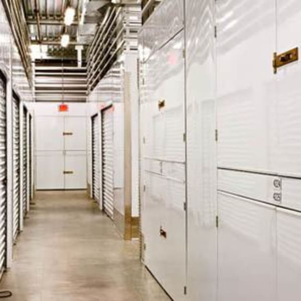 Climate controlled indoor storage units at StorQuest Self Storage in Los Angeles, California