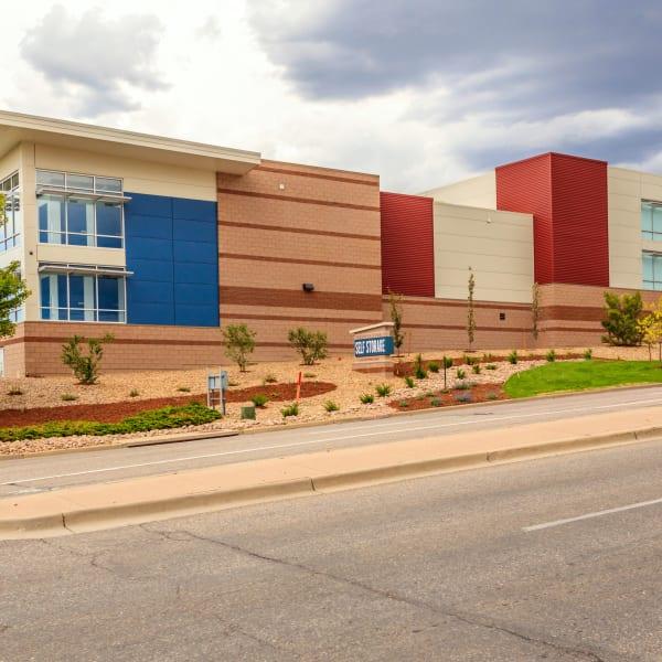 Exterior of StorQuest Self Storage in Littleton, Colorado