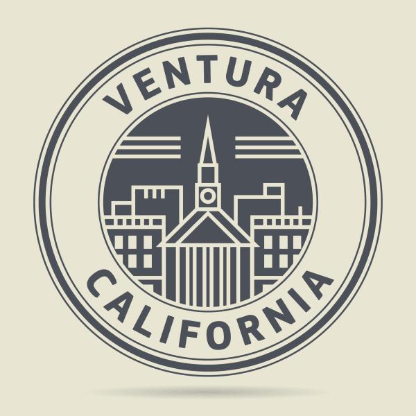 Ventura California badge