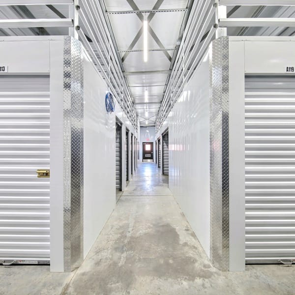 Indoor storage units at StorQuest Express - Self Service Storage in Deltona, Florida