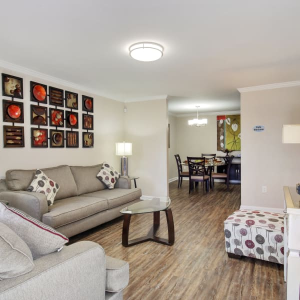 Summerfield Apartment Homes offers Plank Hardwood Flooring in its upgraded units