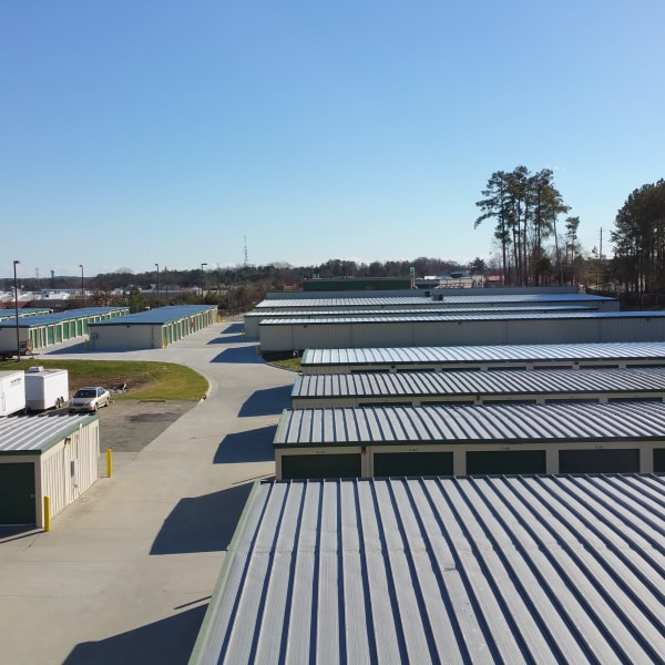 Storage options at Cardinal Self Storage in Graham, North Carolina
