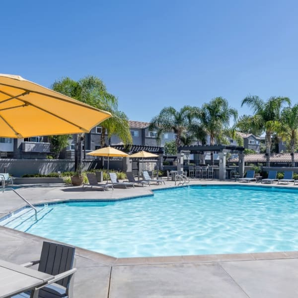 Clubhouse interior at Mission Viejo apartments for rent
