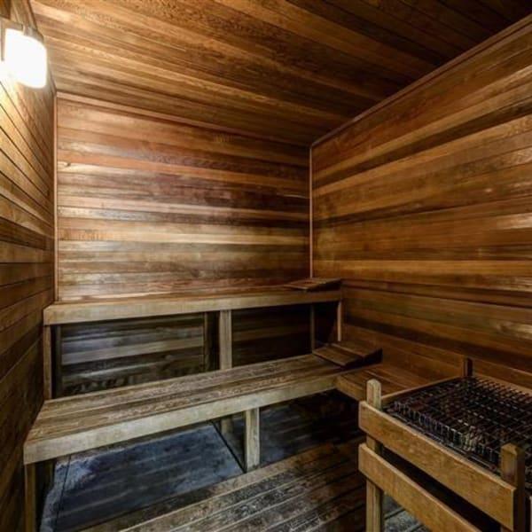 Onsite sauna at Northwind Apartments in Reno, Nevada