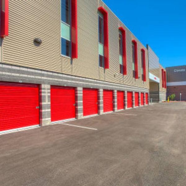 Outdoor storage units at StorQuest Express - Self Service Storage in Sacramento, California