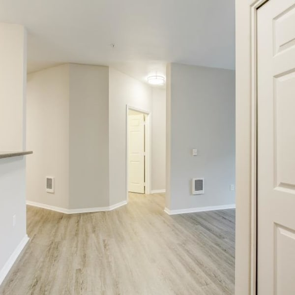 The Dakota Apartments in Lacey, Washington offers beautiful hardwood flooring