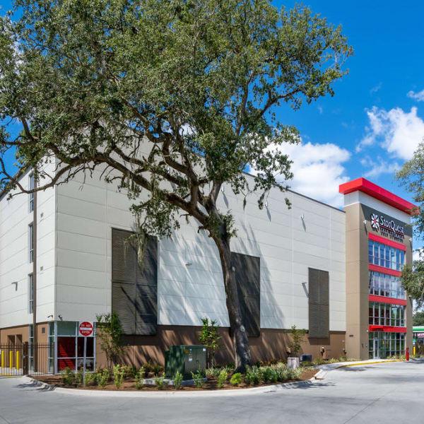 Facade of StorQuest Self Storage in Gainesville, Florida