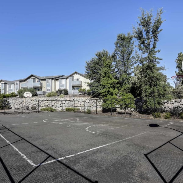 Basketball court at Northwind Apartments in Reno, Nevada