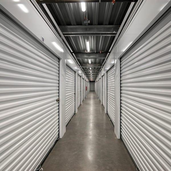 Indoor storage units at StorQuest Self Storage in Carefree, Arizona