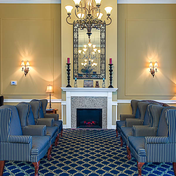 A view into the beauty and comfort our senior living community provides here at Grand Villa of Delray West