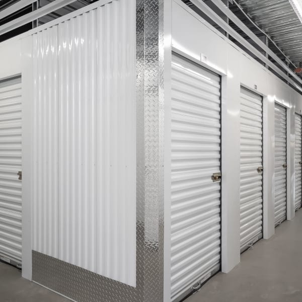 Climate controlled indoor storage units at StorQuest Self Storage in Bothell, Washington