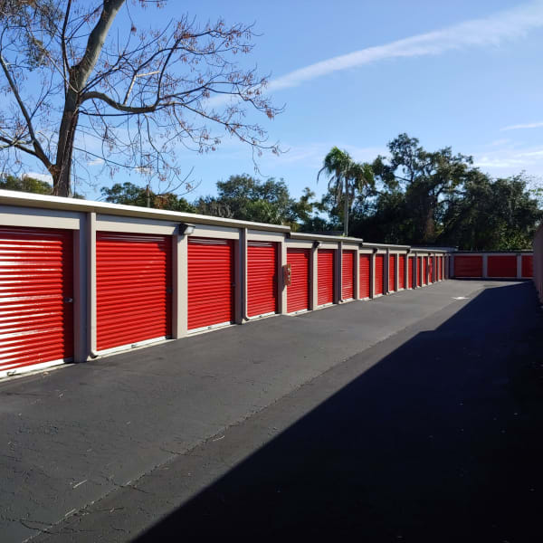 Outdoor units at StorQuest Self Storage in Clearwater, Florida