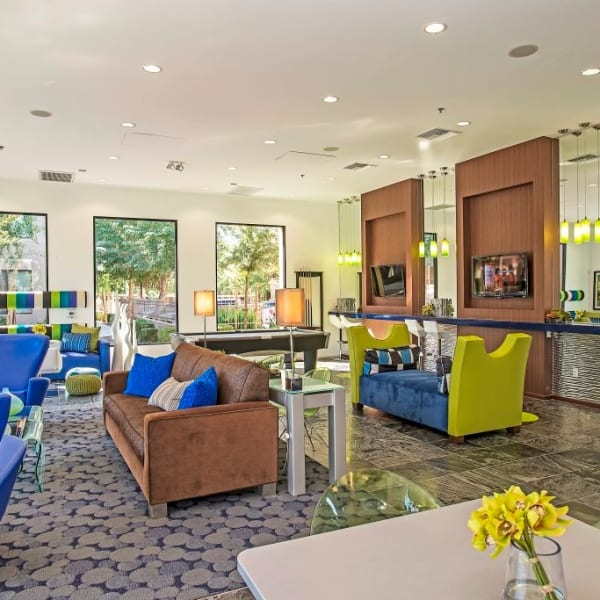 The clubhouse at Spectra on 7th South in Phoenix, Arizona