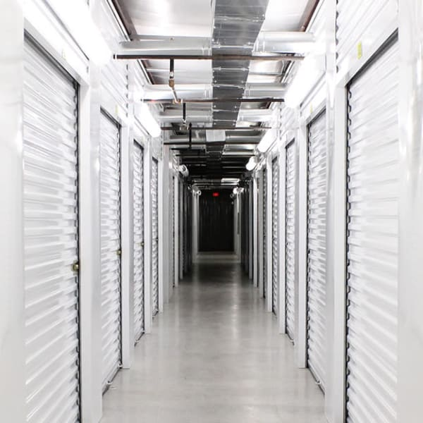 Climate-controlled storage units at StayLock Storage in Simpsonville, South Carolina