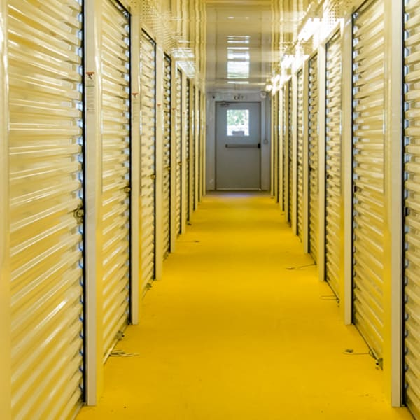 Climate-controlled storage units at StayLock Storage in Hartsville, South Carolina