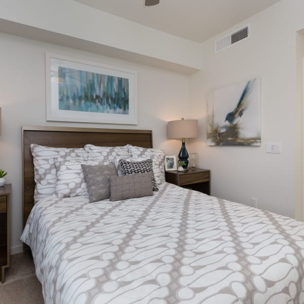 A spacious bedroom at Park Place at Fountain Hills in Fountain Hills, Arizona