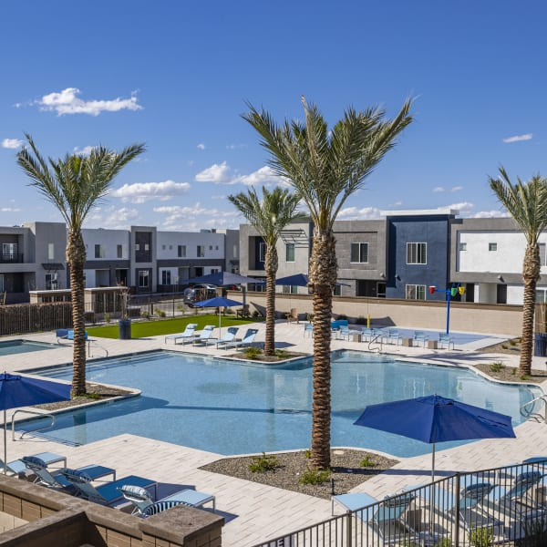 Spacious playground at BB Living at Val Vista in Gilbert, Arizona