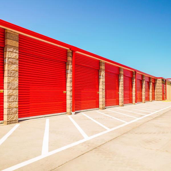 Exterior of outdoor units at StorQuest Self Storage in Santa Maria, California