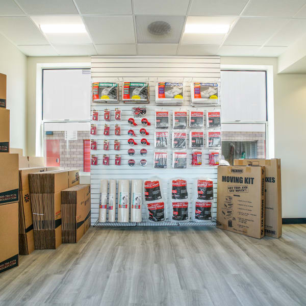 Packing supplies available at StorQuest Self Storage in Santa Maria, California