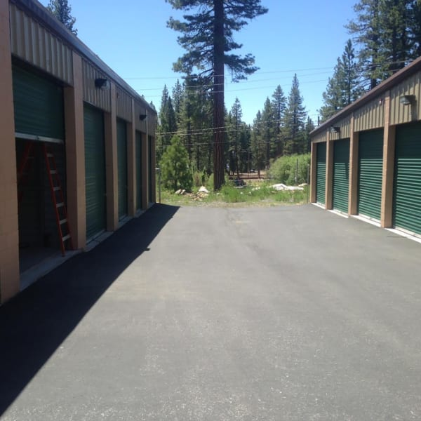 Outdoor units at StorQuest Express - Self Service Storage in Tahoe Vista, California