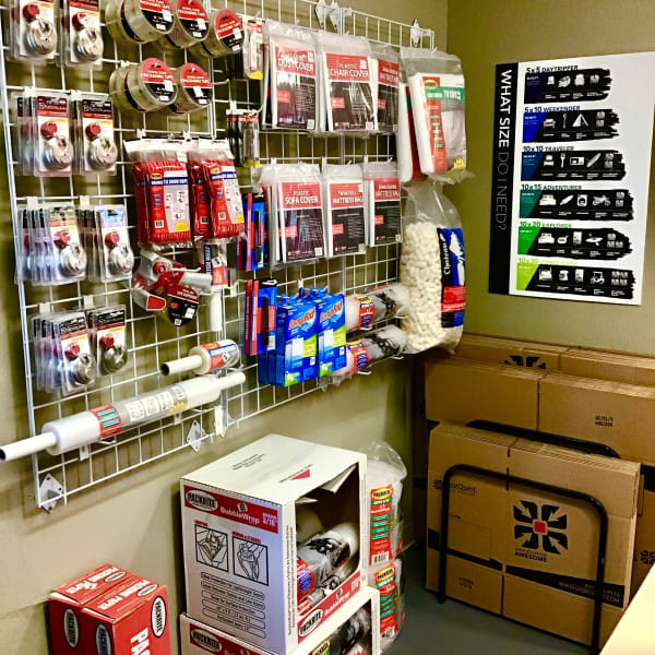Packing supplies sold at StorQuest Express - Self Service Storage in Tahoe Vista, California