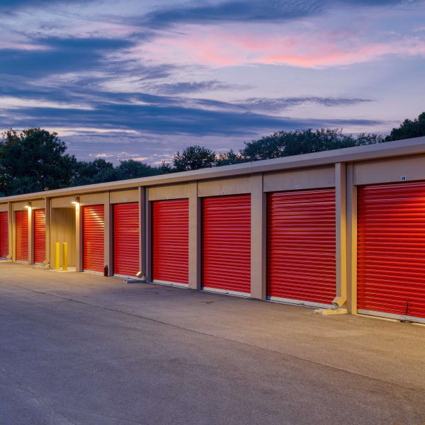 Outdoor storage units at StorQuest Express - Self Service Storage in Kissimmee, Florida